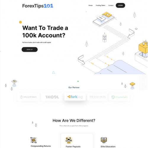 Design a One of a Kind Website for Our Innovative Forex