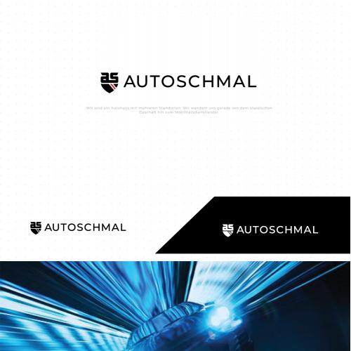 auto schmal logo design