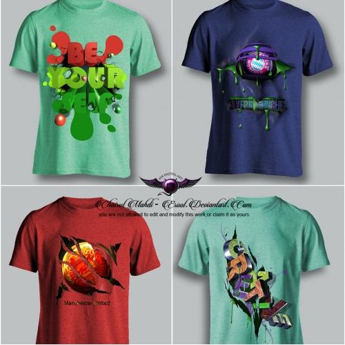 3d t shirt design