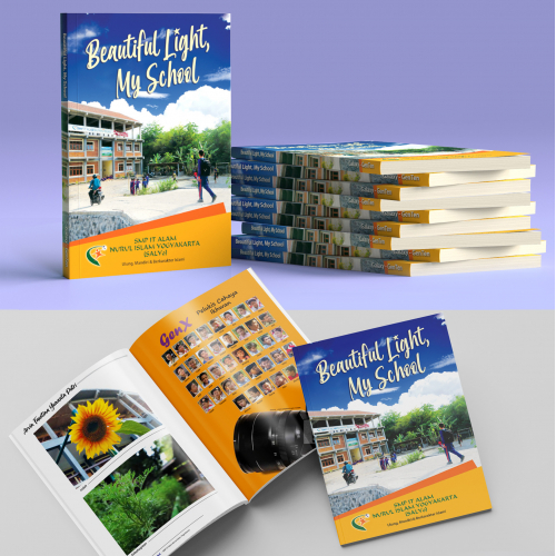 Photographic book of junior high school students