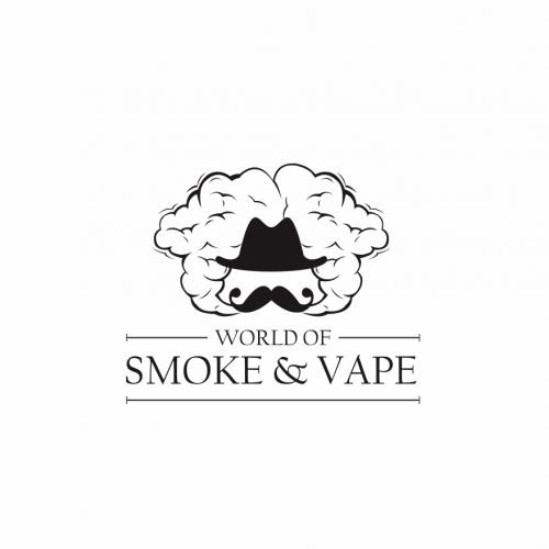 vape and smoke logo