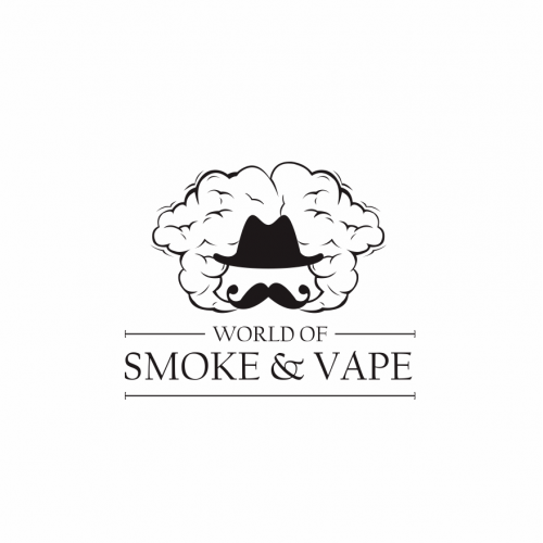 vape and smoke logo