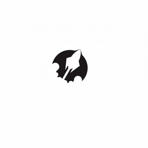 technology logo rocket