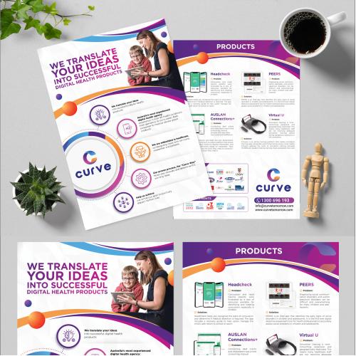 Health Technology flyer
