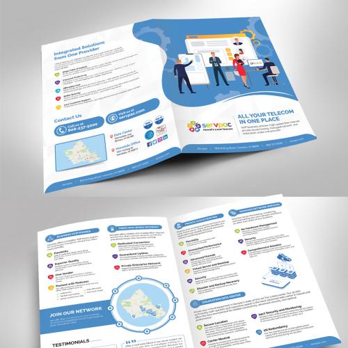 Telecom service brochure