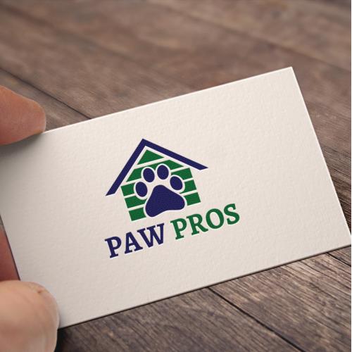 Bold, Modern, Pet Logo Designs for Paw Pros