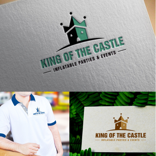 Bold, Event Logo Designs for KING OF THE CASTLE