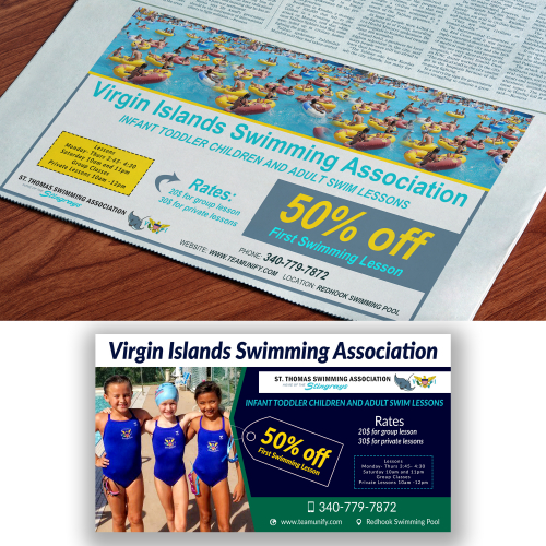 News advertisement design