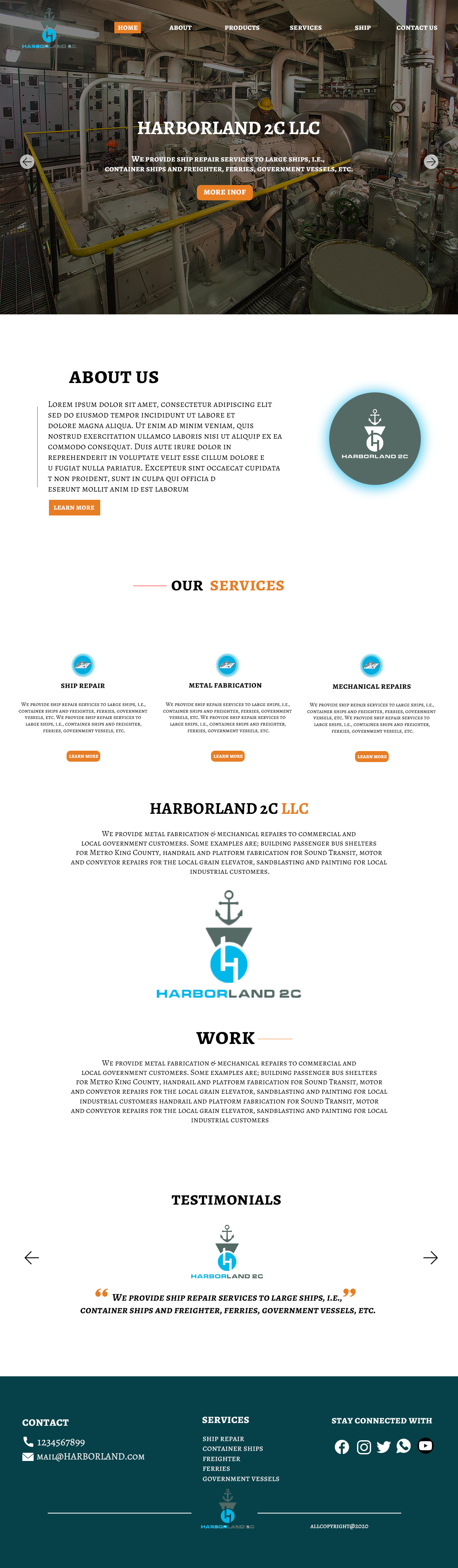 HARBOR LAND 2C LLC,