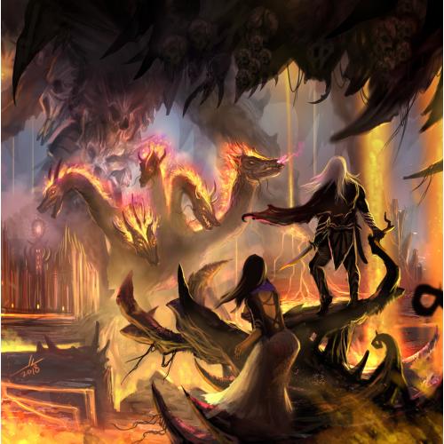 Dragonlance Abyss Art