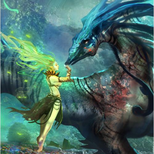 Gaia\'s Embrace Illustration