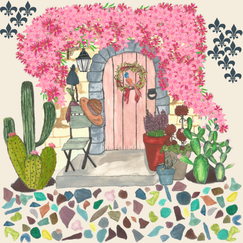 Italian Door House Pattern