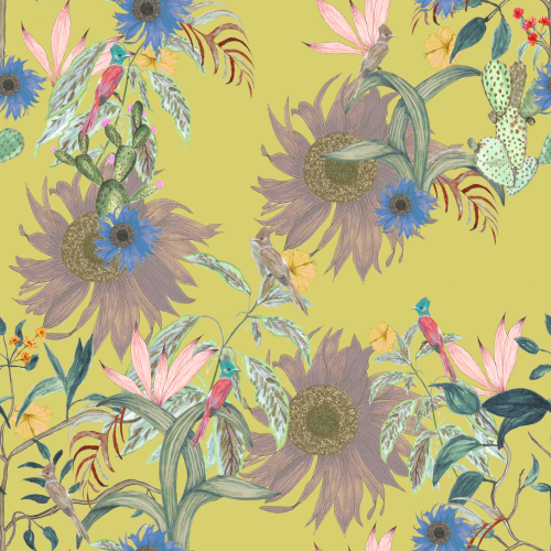 Botanical Surface Pattern Design