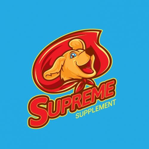 Superdog Logo Design