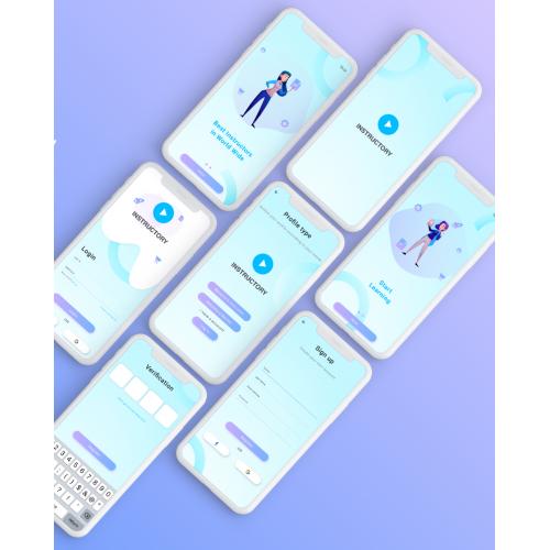 Instructory app design