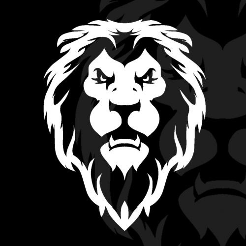 Lion Head T shirt and Logo designs