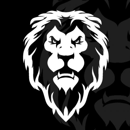 Lion Head T shirt and Logo designs