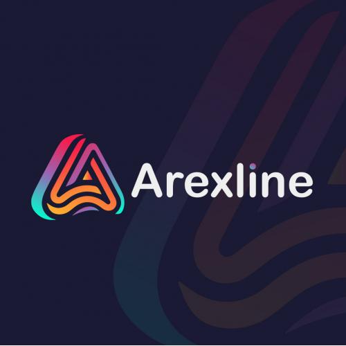Arexline Logo Design