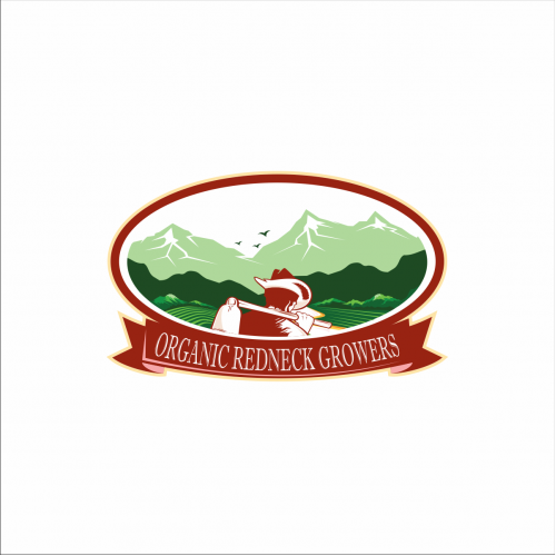 Agriculture Logo Design, Logo Text : Organic Redneck Gr