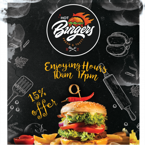 Burger Advertisement