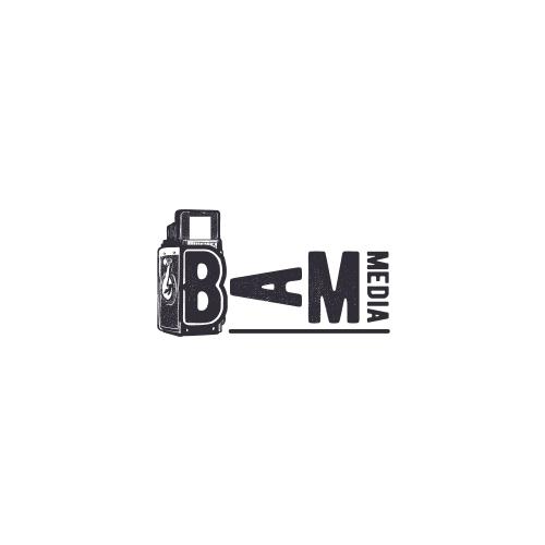 Fun photography and media logo design