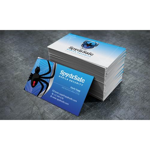 Spydr Safe Business Card