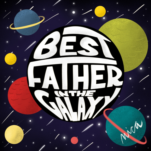 Star Wars Father's Day Hand Lettering