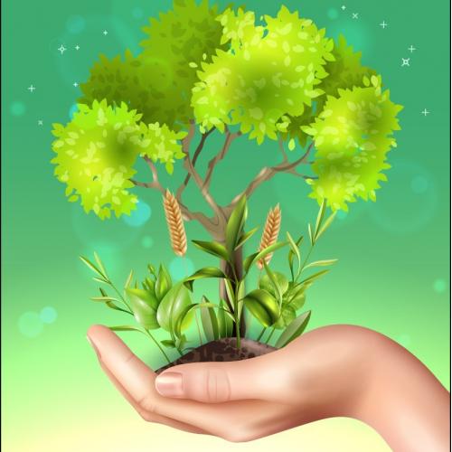 Earth Day Poster Creative Idea