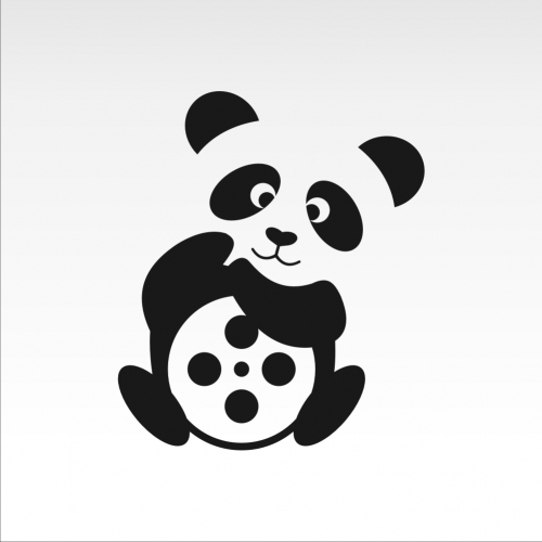 the panda logo holding the roll of music together I co