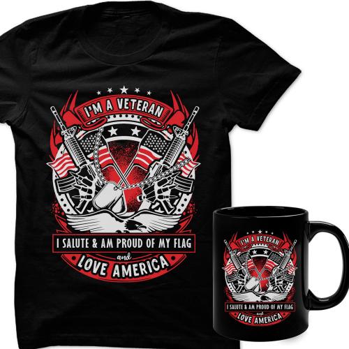 I'm a veteran love America