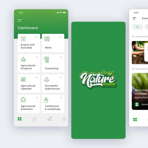 Nature Food App