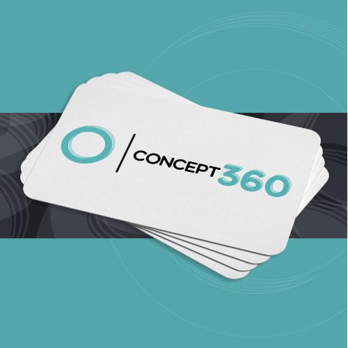 concept360 logo design