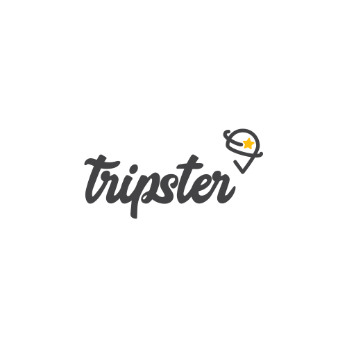 Logo for a travel experience app