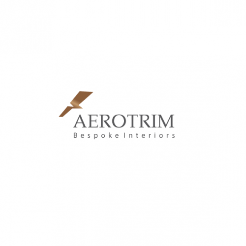 logo for a company that designs luxury interiors for jets
