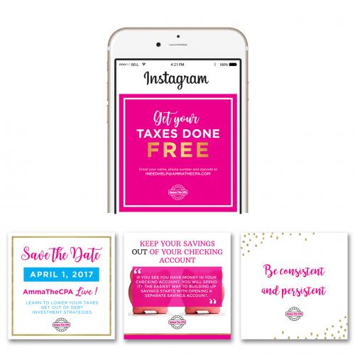 Social Media Kit Template Designs