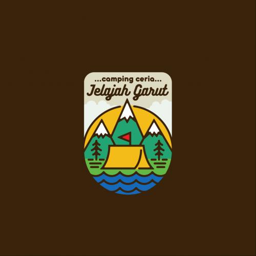 T-Shirt Design for Jelajah Garut Merchandise