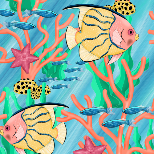 Coral pattern design
