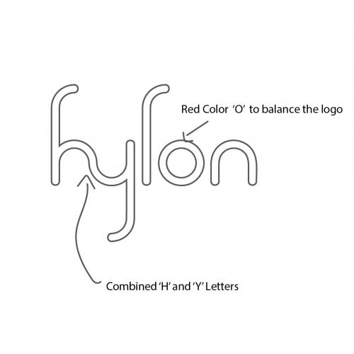 HYLON, a logo for a new tech brand