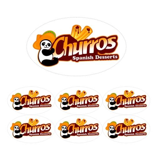 churros label
