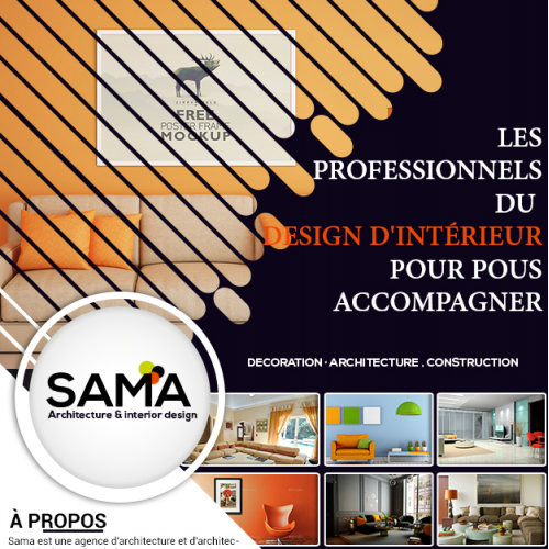 SAMA flyer design