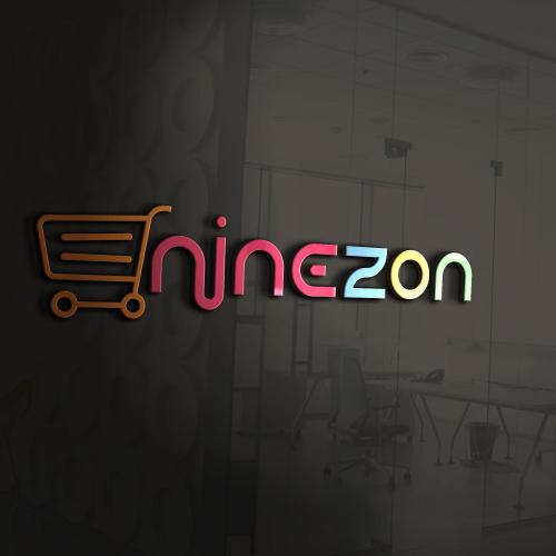 Ninezone logo for shopify store