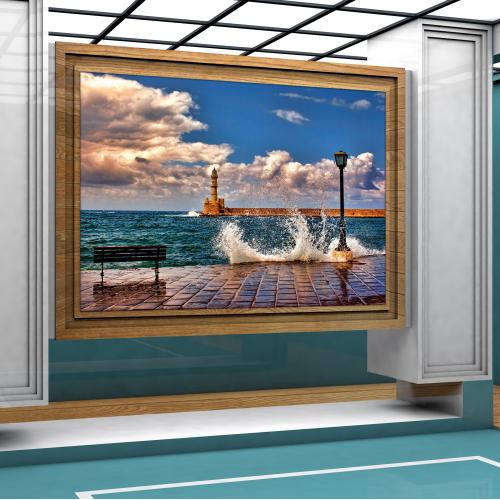 Photo Template 3d design