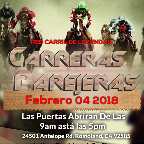 Carreras Parejeras event