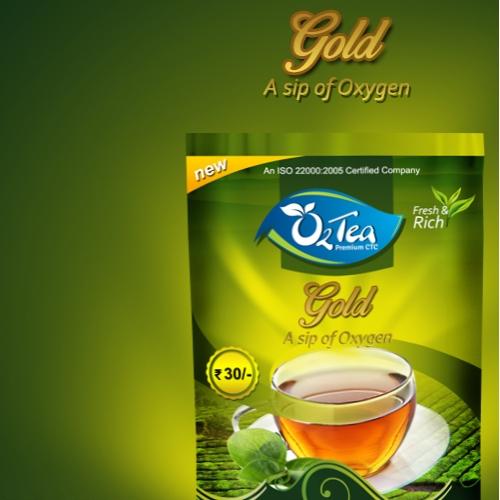 O2 Tea Packaging Design