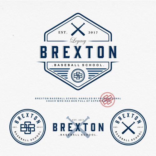 Logo for BREXTON Baseball school