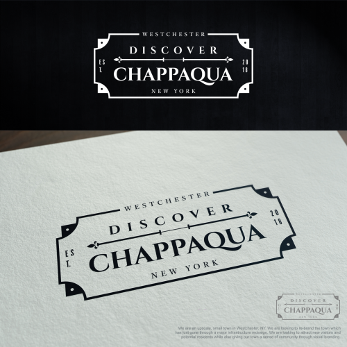 Logo rejected for DISCOVER CAPPAQUA. #forsale