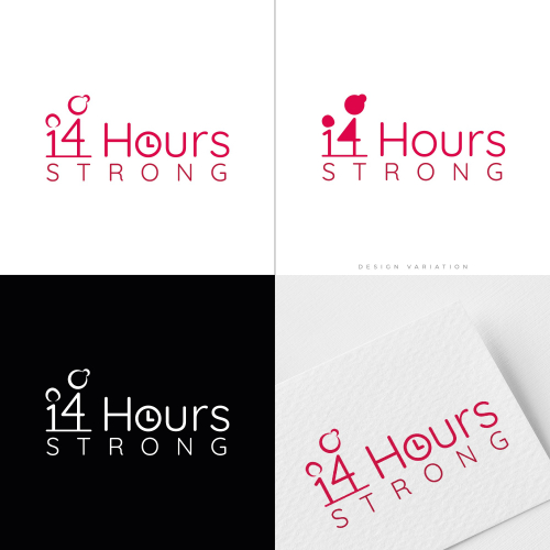 '14 Hours Strong' Logo Design Project