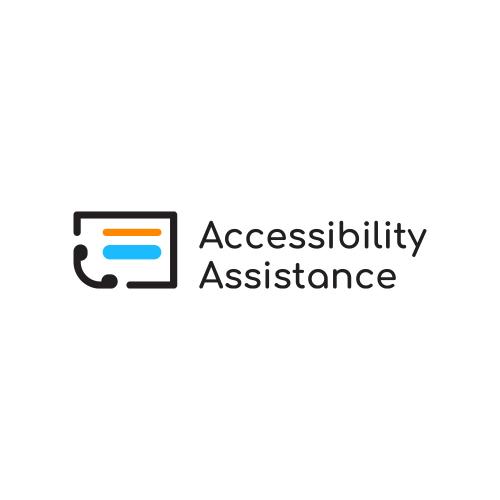 'Accessibility Assistance' Logo Design Concept