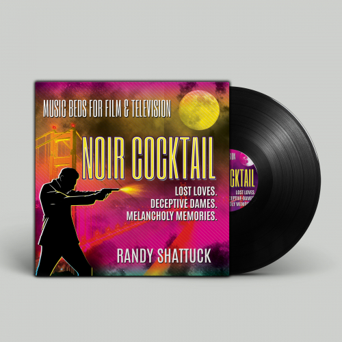 'Noir Cocktail' Music Album Cover
