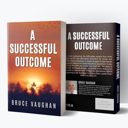 'A Successful Outcome' Book Cover Concept